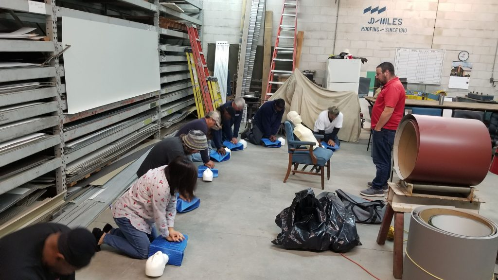 J.D. Miles & Sons, Inc. CPR & First Aid Training