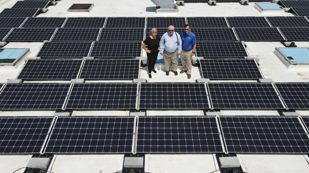 J.D. Miles & Sons, Inc. Solar Panels