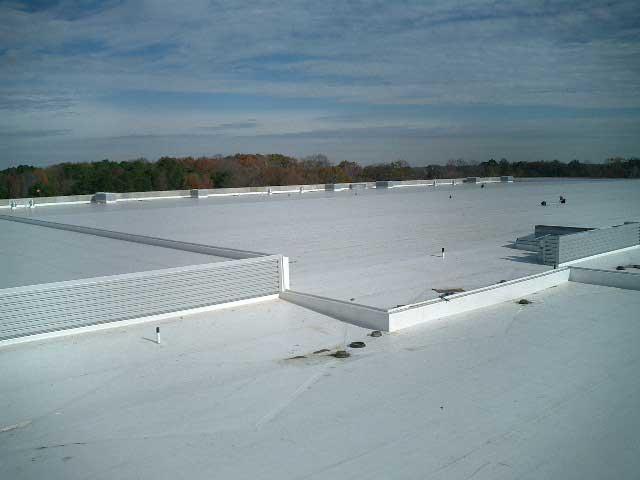 J.D. Miles & Sons, Inc. Sarnafil Roof Installation